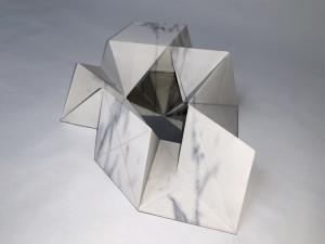 Molin Corvo gallery GABRIELE DAL DOSSO CUBO DI GABO – M³.M 1 - 2018 3D printed Carrara Marble 32x22x7cm Edition of 6 1600$ 2