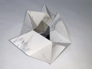 Molin Corvo gallery GABRIELE DAL DOSSO CUBO DI GABO – M³.M 1 - 2018 3D printed Carrara Marble 32x22x7cm Edition of 6 1600$ 4