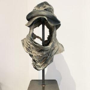 AlexandreBavard_GHOST_2020_Mixed-media-resin-concrete-and-acrylic_53x39x30cm