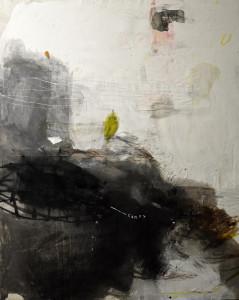 EMANUELE RAVAGNANI-Senza Titolo 2015 tec. mista su tela 150x130 cm.