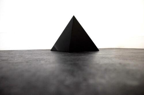 Fabian Albertini Title: Black Pyramid - 2020