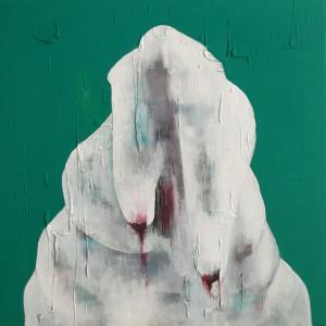 Ilaria Bochicchio-chambre nuit 50x50cm
