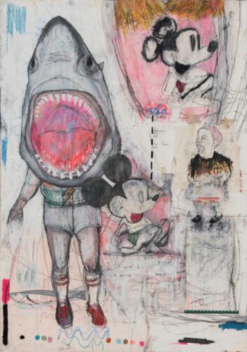 """Anna Stella Zucconi""""Mickey's Jaws"""" - 2018"""